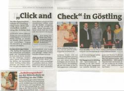"""Click und Check"" in Göstling"